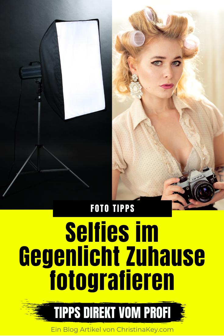 Selfies im Gegenlicht mit Softboxen