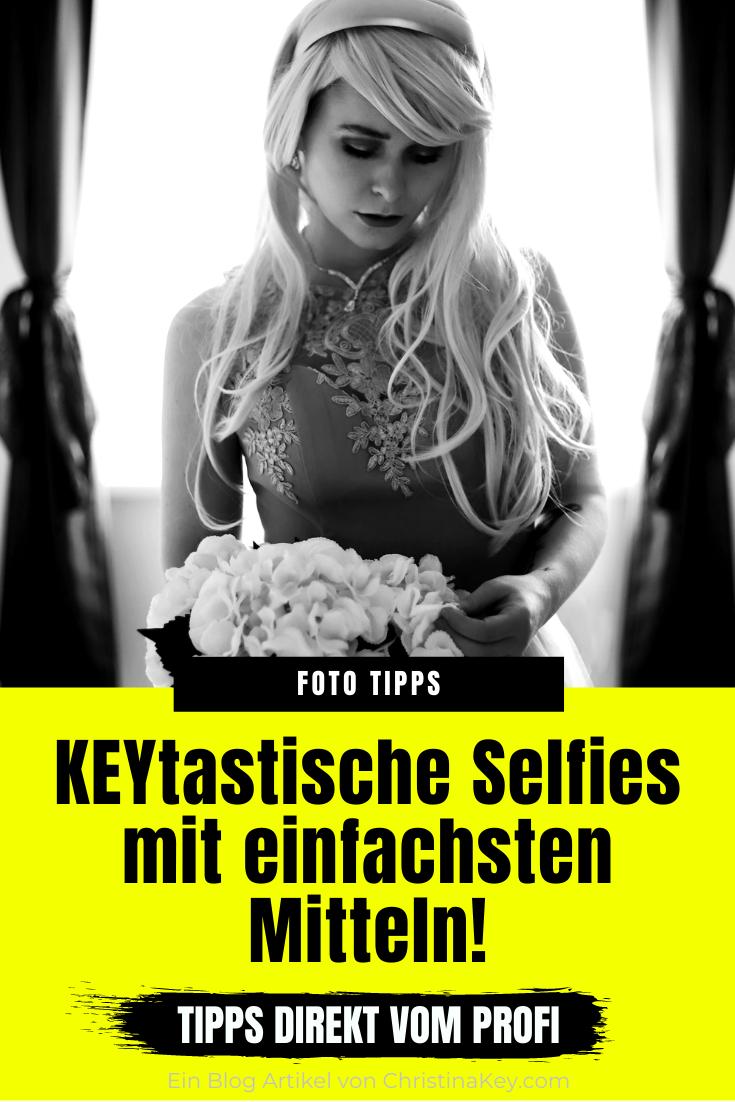 Romantische Selfies Zuhause fotografieren