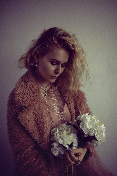 Romantische Selfies Zuhause fotografieren Idee