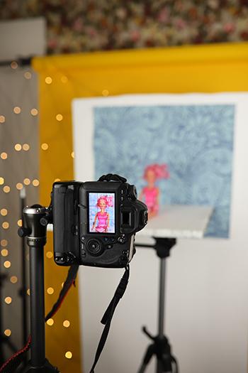 Fotografiere deshalb mit einer Styroporplatte Low Budget Fotostudio