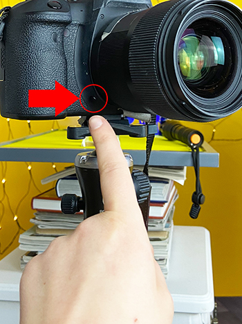 Glaskugel-Fotografie Tipps für scharfe Fotos Abblendtaste