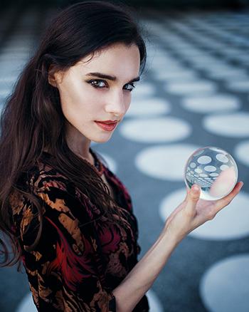 Glaskugel Fotografie Tipps und Bild Ideen Portrait