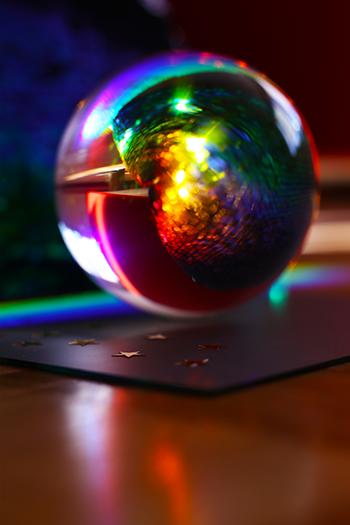Glaskugel Fotografie Tipps und Bild Ideen mit Prisma