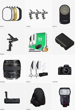 Meine Fotografie Equipment Empfehlungen