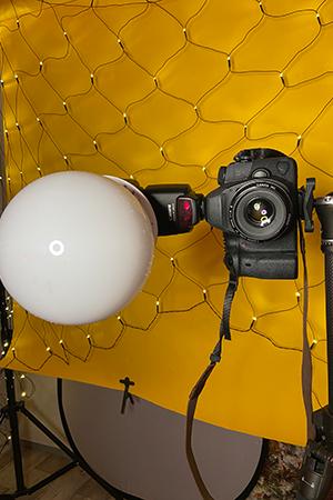 Selfies mit Aufsteckblitz Zuhause fotografieren