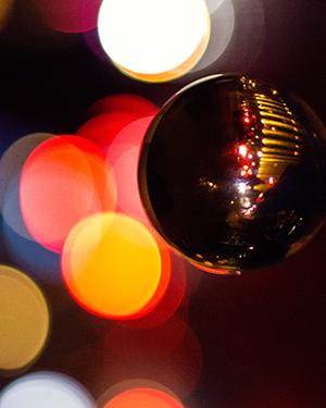 Glaskugel Fotografie Ideen Abends
