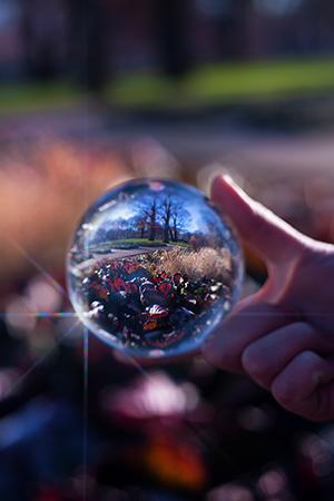 Glaskugel Fotografie Ideen Filter
