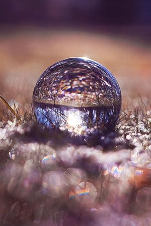Glaskugel Fotografie Ideen Gegenlicht