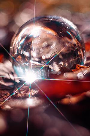 Glaskugel Fotografie Ideen Sternenfilter