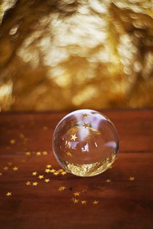 Glaskugel Fotografie Ideen Swirly Bokeh