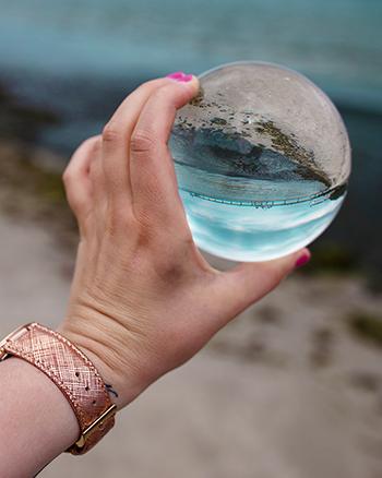 Welche Größe Lensball