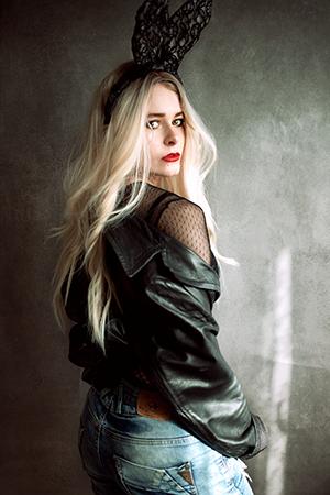 Selfie Idee Fashionshooting Hasenohren DIY Christina Key