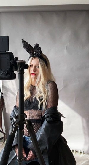 Selfie Idee Fashionshooting Hasenohren Tipps