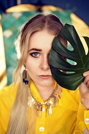 Selfies mit DIY Studiohintergrund und Ringlicht Zuhause fotografieren Tipp